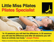 Little Miss Pilates Flyer