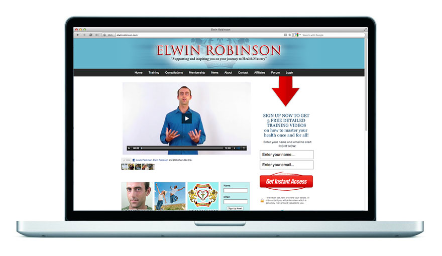 Elwin Robinson Website