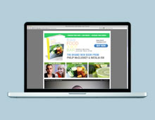 Raw Food Juice Bar Website