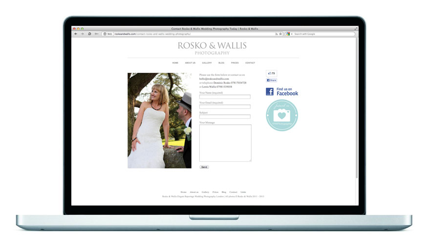 Rosko & Wallis Website