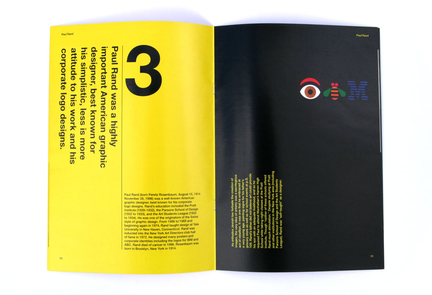 Design Magazine Layout