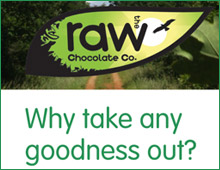 The Raw Chocolate Company leaflet