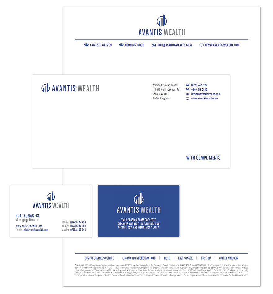 Avantis Wealth stationary design