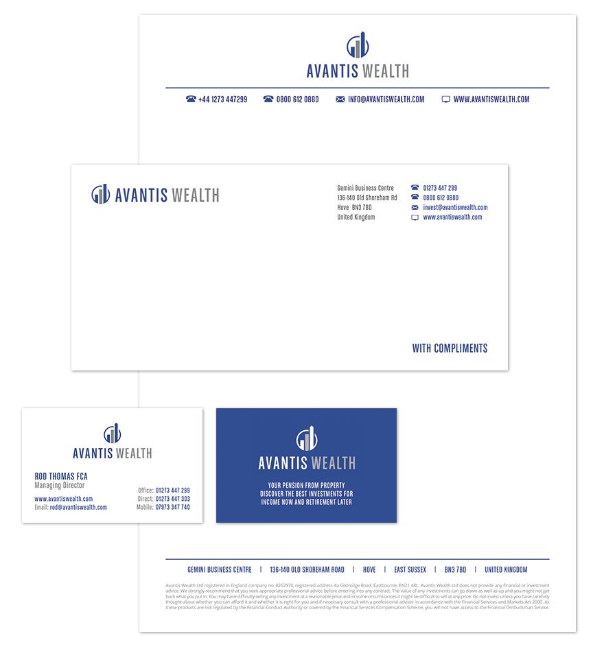 Avantis Wealth stationary design
