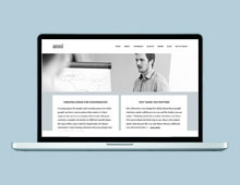 Website design for Anni Townend