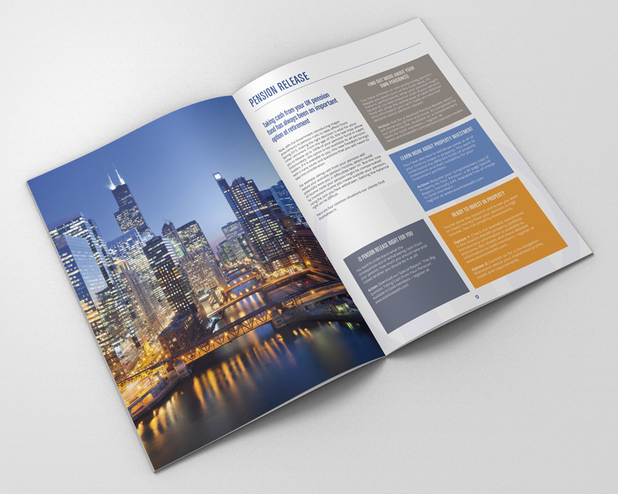 Corporate Brochure Design for Avantis Wealth