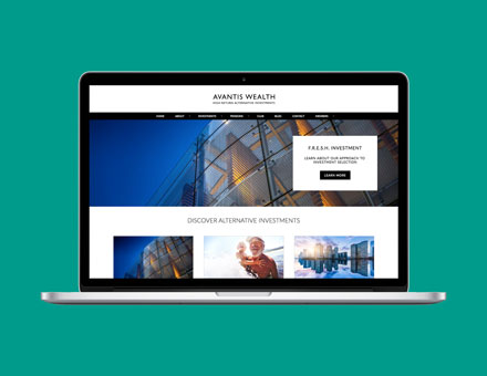 graphic designer Somerset wordpress website design