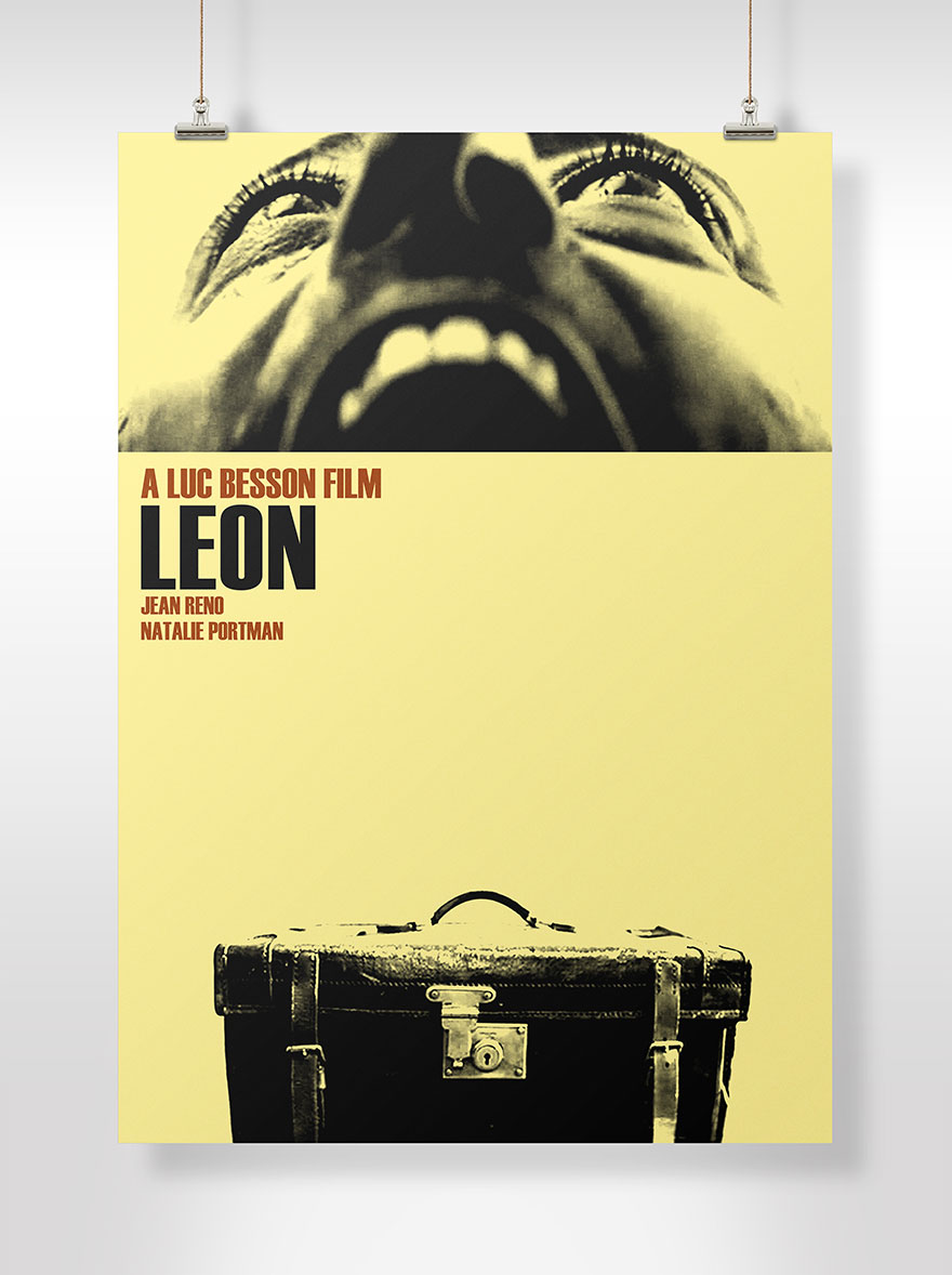 Leon Film Poster