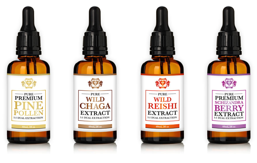 Lion Heart Herbs tincture range