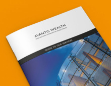 Avantis Wealth marketing collateral