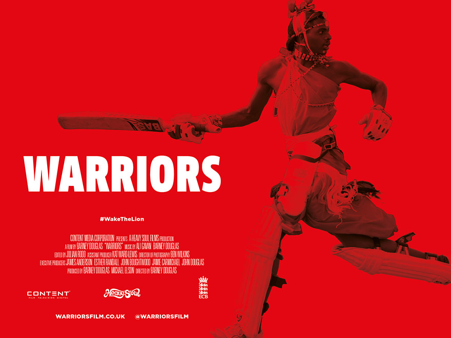 Film poster design for Warriors