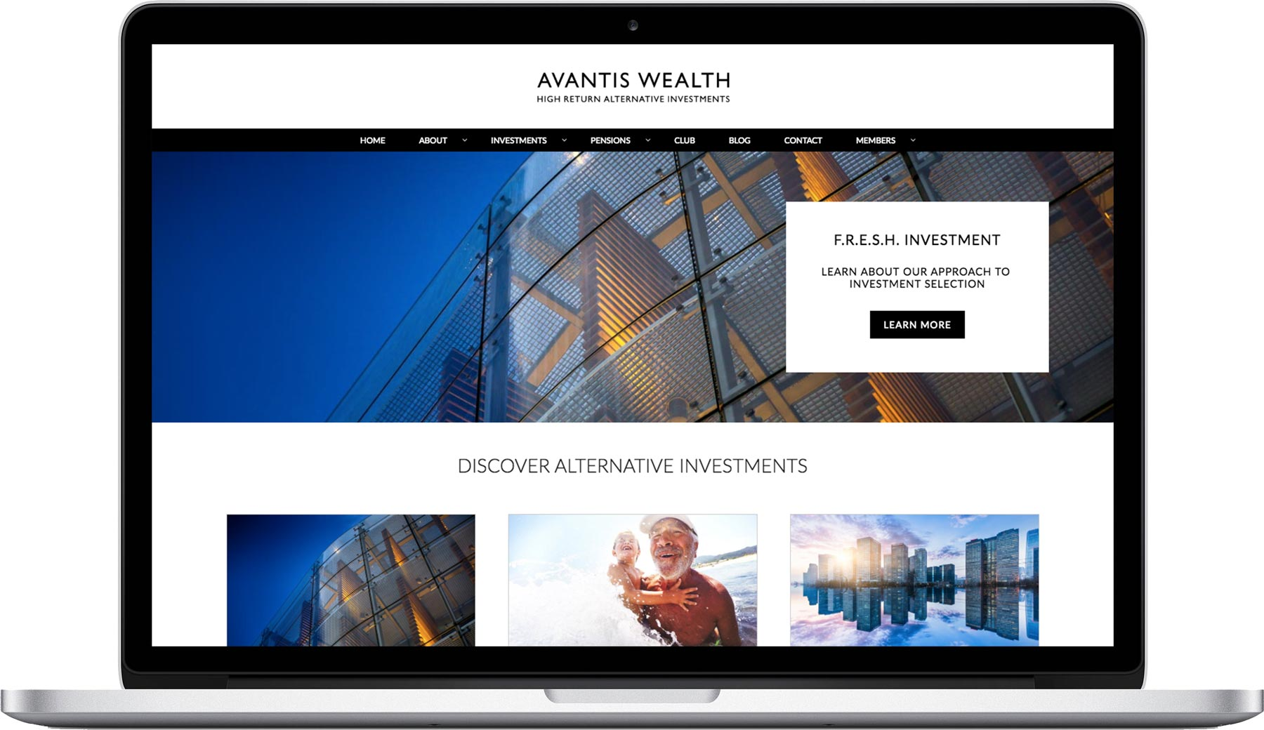 Avantis Wealth website
