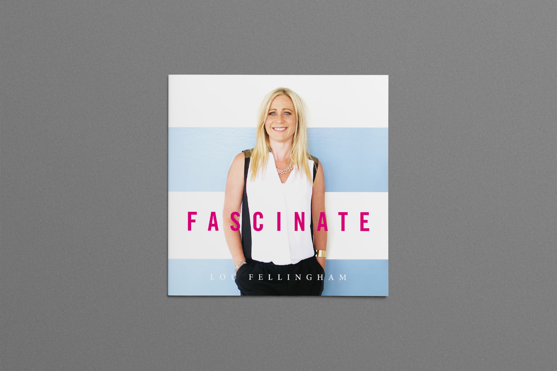 Lou Fellingham – Fascinate album design