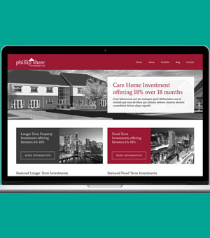 Philip Shaw Investments website