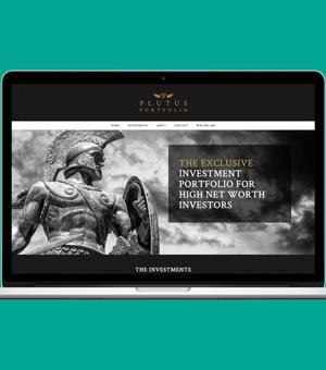 Plutus Portfolio website