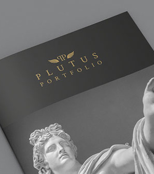 Plutus Portfolio marketing collateral