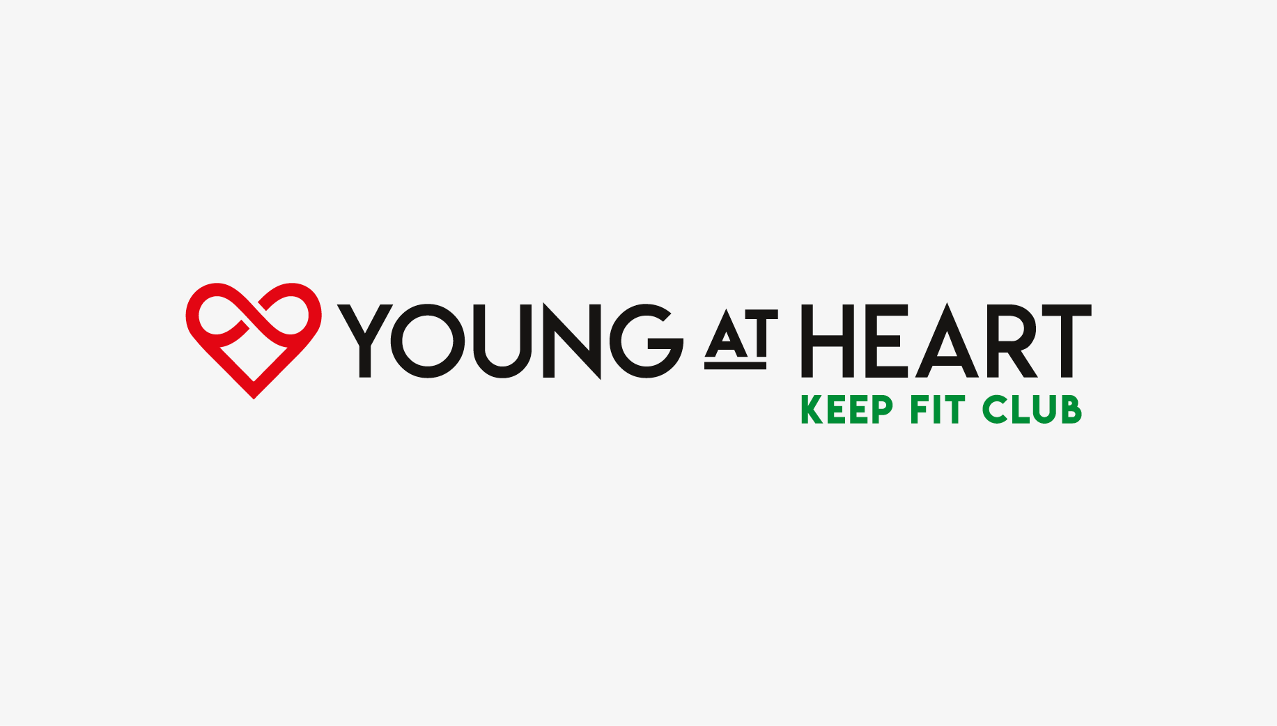 Young At Heart Keep Fit Club logo