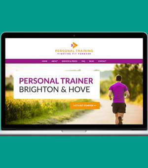 3Fs Personal Training website