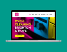 Like New Oven Cleaning website