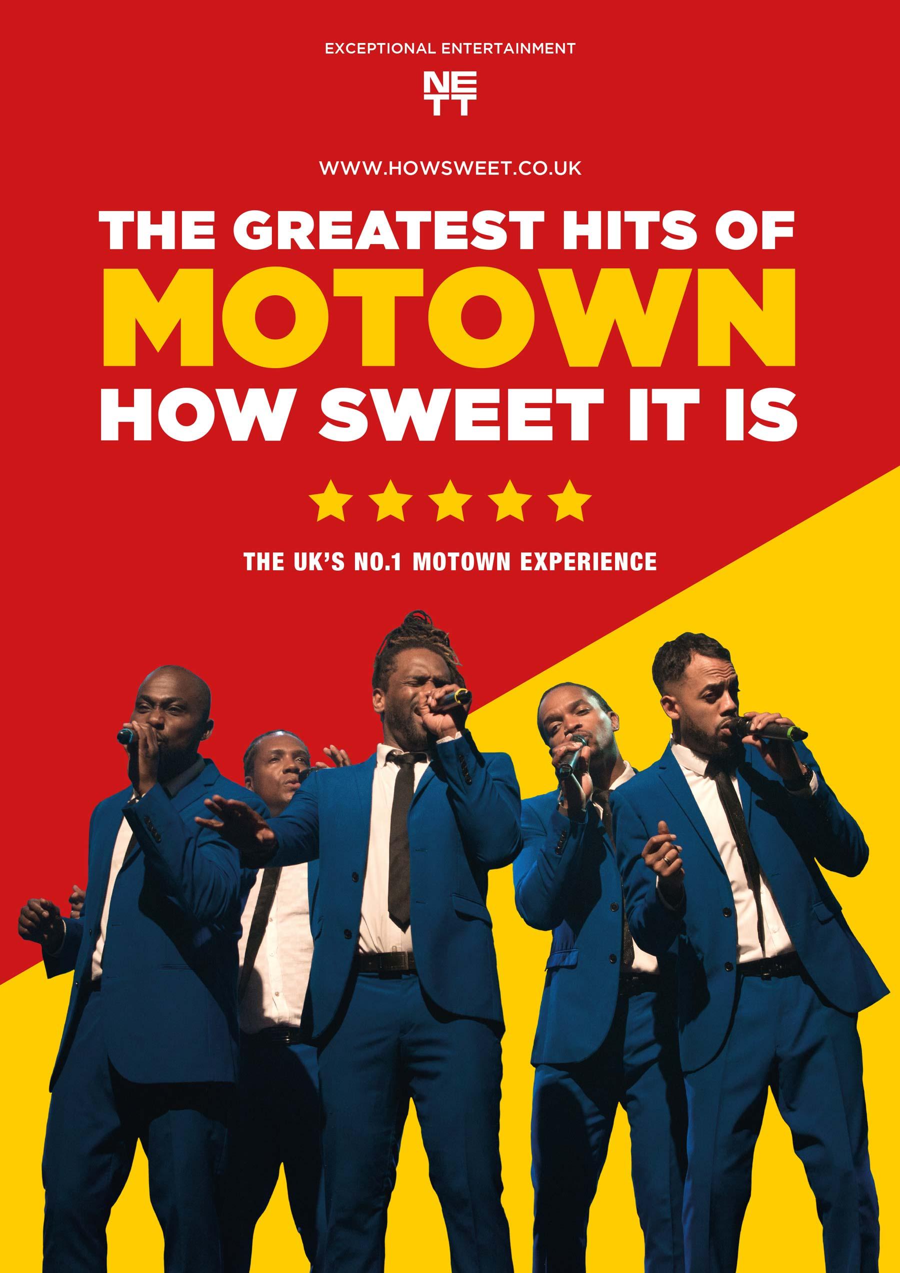 Motown musical poster